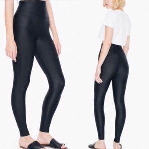 American Apparel Nylon Tricot High Waist Leggings